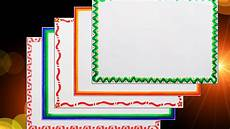 Chart Frame Design How To Decorate Borders Of Project Files 5 Attractive