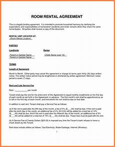 Room Rental Agreement Month To Month 5 Simple Lease Agreement For Renting A Room Purchase