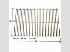Grill Master 720 0697 Gas Grill Replacement Stainlessa