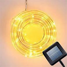 Best Outdoor Solar Led Rope Lights Best Rated Outdoor Solar Powered Rope Lights 2020 Top