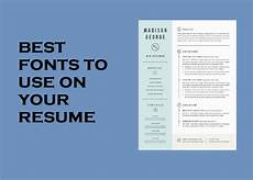 Resume Fonts Top Ten Best Fonts To Use On Your Resume Qwikresume Com