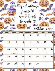 November Calendar Quotes Free Printable 2019 Monthly Motivational Calendars