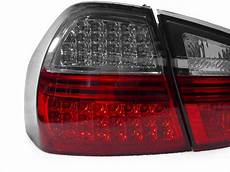E90 Euro Lights Depo 06 08 Bmw E90 4d Red Smoked Blackline Led Lights