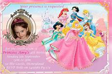 Princess Disney Invitations Free Disney Princess Invitations Stuff To Buy