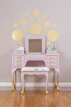 sold gold dipped pink vanity dressing table