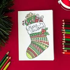 Printable Christmas Card Templates Free Christmas Card Printable Template Coloring Page