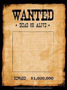 Make A Poster For Free Blank Wanted Poster Template Make Your Own Wanted Poster