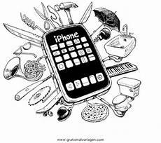 Malvorlagen Kostenlos Ausdrucken Handy Ausmalbilder Handy Iphone