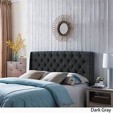 perryman adjustable tufted fabric headboard by