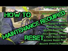 How To Reset Maintenance Light On Can Am Commander Can Am Maintenance Required How To Reset Youtube