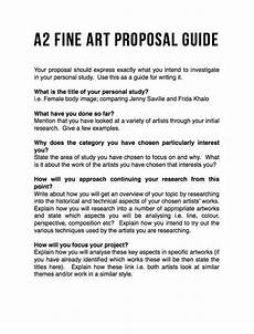 Artist Essay Examples Proposal Guide Project Proposal Example Art Essay Proposal