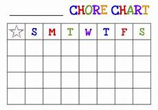 Chore Chart Pictures Free Printable Chore Chart For Kids