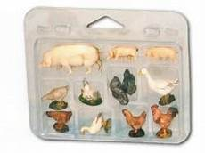 animali da cortile elenco pecore e animali