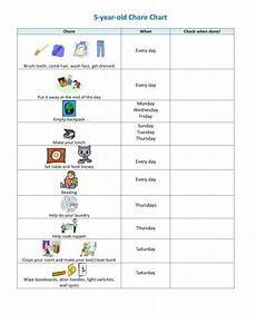 Chore Chart For 6 Year Old 10 Chore Charts For Parents