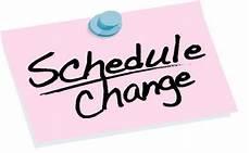 Date Change Written Creations Llc 187 A New Schedule
