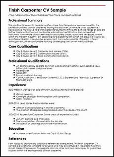 Finish Line Resume Woodworker Job Description Mt Home Arts
