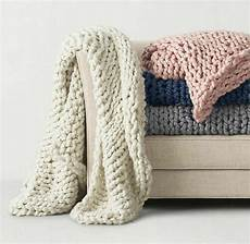 merino wool chunky knit blanket chunky arm knit throw
