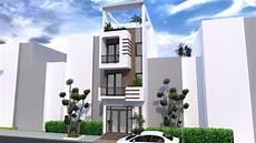 Www Home Design Story Sketchup 4 Story Narrow House Plan 4 2m Shoas House Plan