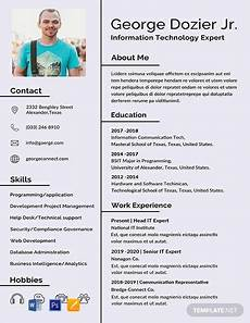Pictures On Resume Free It Resume Format Template Word Doc Psd