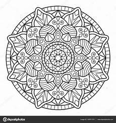 Malvorlagen Mandala Mandala Malvorlagen Buch Stockvektor 169 Jelisua88 140671516
