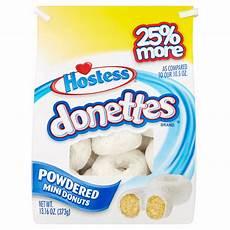 Walmart Donuts Hostess Donettes Powdered Mini Donuts 13 16 Oz Walmart