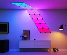 Leaf Tile Lights Modular Smart Lighting Panels Interwebs