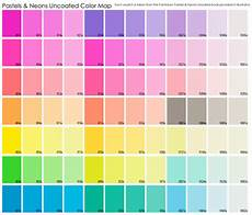 Pan Pastel Color Chart Neon Amp Pastel Uncoated Color Map Fabric Chantae