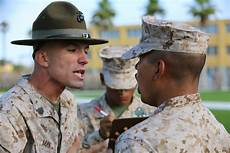 Marines Corps Drill Instructor Co F Endures Senior Drill Instructor Inspection Gt Marine