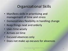 Demonstrate Organisational Skills Personality Attitudes Workplace Behavior And Motivation