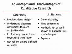 Advantages Of Quantitative Research Design Ppt Introduction To Qualitative Research Concepts And