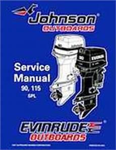1998 Johnson Evinrude Quot Ec Quot 90 115 Spl Service Manual P N