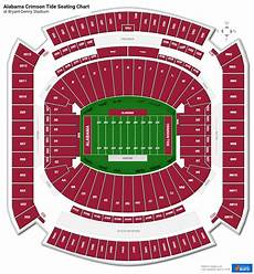 Bryant Denny Stadium Seating Chart With Seat Numbers Bryant Denny Stadium Section U3b Rateyourseats Com