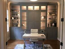 home office library custom cabinet raleigh triangle