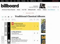 Billboard Classical Albums Chart Home J J Wright