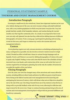 Management Personal Statement Free Events Management Personal Statement Event Management