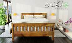 new solid wooden pine 5ft king size bed frame with slats