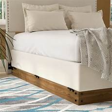 zipcode design winston wood bed frame for box