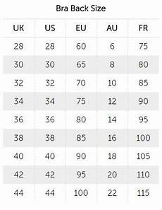 Bra Size Chart Us To India What American Size Is 38 85 In Bras Quora