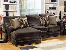 chocolate fabric 2pc everest modern sectional sofa w options