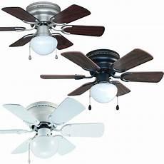 Ceiling Fan Light 30 Inch Flush Mount Hugger Ceiling Fan W Light Kit Satin