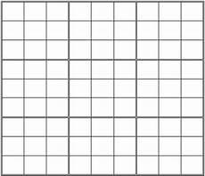 Sudoku Printable Grids 4 Best Images Of Printable Blank Sudoku Grid 2 Per Page