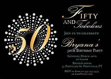 50th Birthday Invites Templates Create Own 50th Birthday Invitations Free Templates 50th