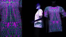 How To Make A Black Light Shirt Schwarzlicht T Shirts Blacklight T Shirts Youtube