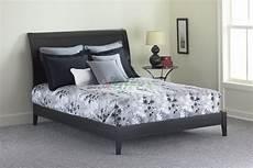 java platform bed contemporary bed in mahogany black
