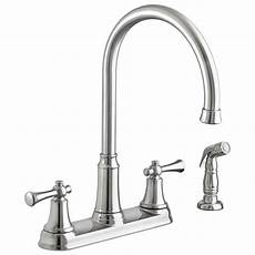 American Standard Kitchen Faucet Repair Portsmouth 2 Handle High Arc Kitchen Faucet With Side