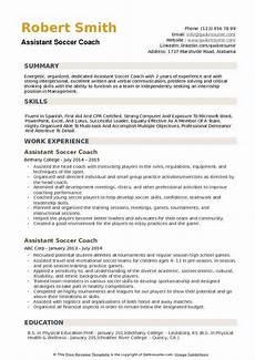 Soccer Coach Resume Soccer Coach Resume Ipasphoto
