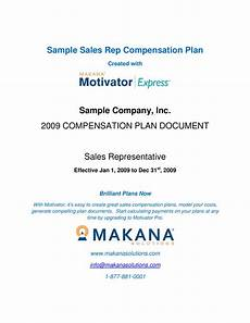 Sales Compensation Plan Template Sales Rep Compensation Plan Discussion Flow And Content