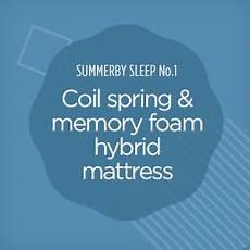 summerby sleep no1 coil and memory foam hybrid
