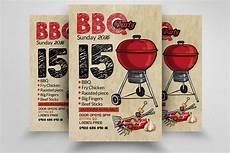 Chicken Bbq Flyer Template Barbeque Flyer Template Flyer Templates Creative Market