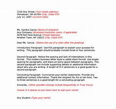 Example Of Friendly Letter Free 8 Sample Business Letter Formats In Pdf Ms Word